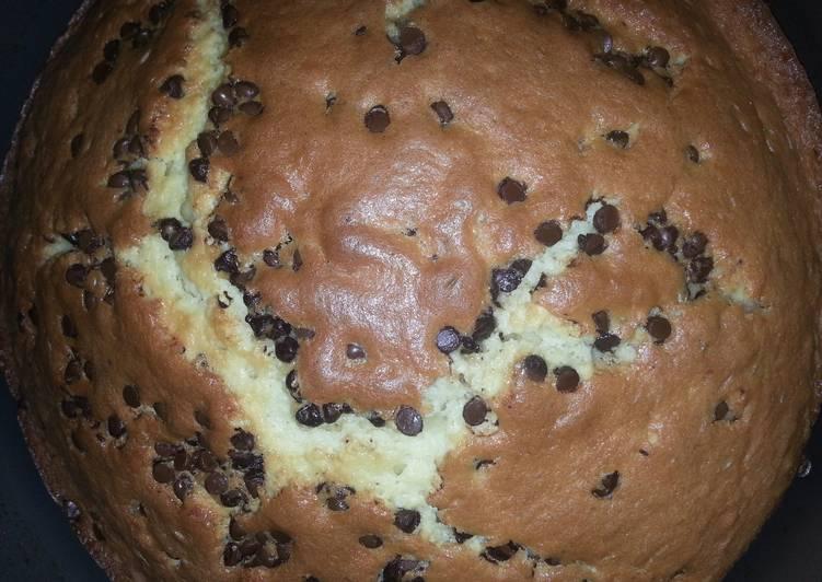 Short Cut Chocolate Chip Cinnamon Vanilla Cake
