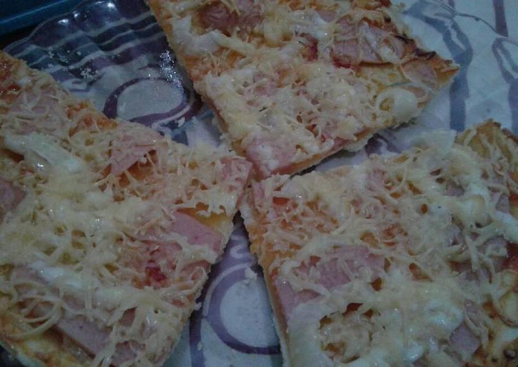 Crunchy Pizza