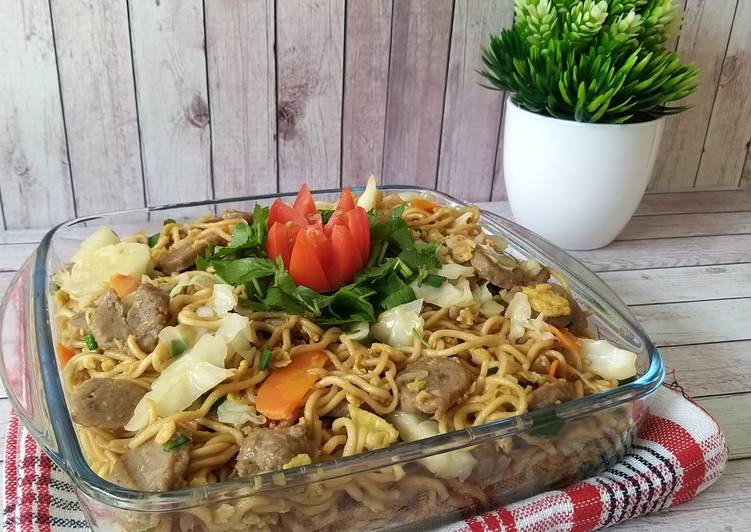 Resep Mie Goreng Baso Sapi yang Menggugah Selera