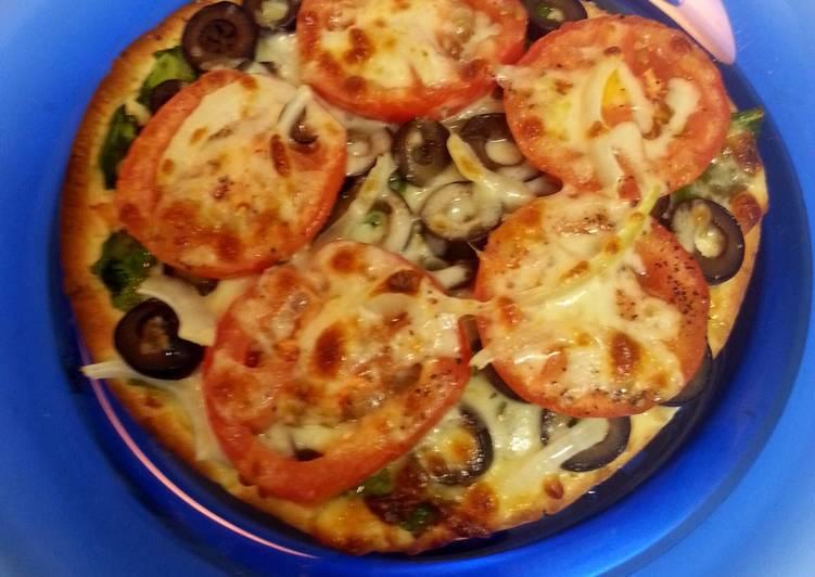 Flatbread Veggie Pizzas