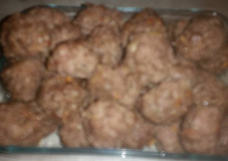 Zesty meatballs