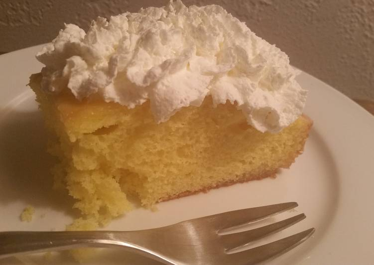 LEMON CAKE - Glazed