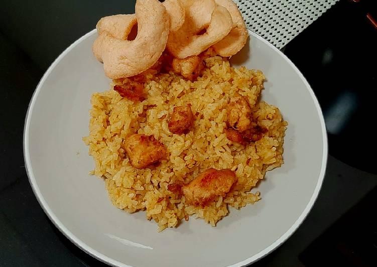 Resep Nasi Kebuli Ayam praktis