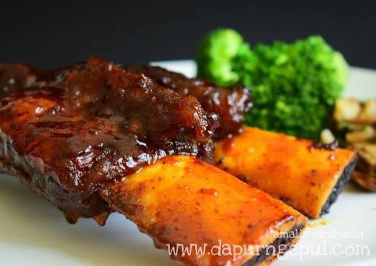 BBQ Beef Back Ribs (TGIFs copycat)