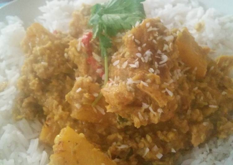 Recipe of Any-night-of-the-week Chicken and Pineapple Curry