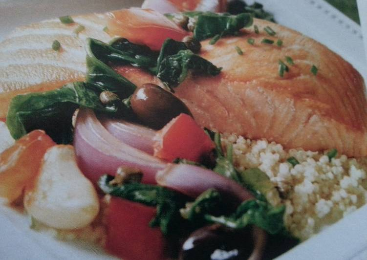 Fresh Salmon w/Quinoa