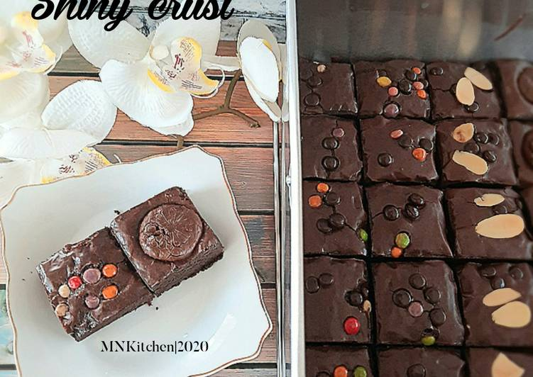 Brownies Shiny Crust