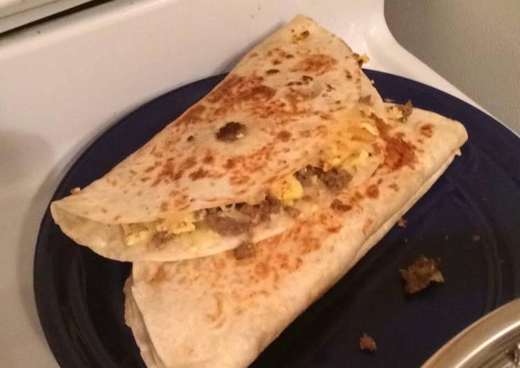 Recipe: Tasty Breakfast Quesadillas