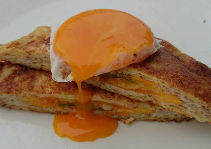 French Toast With Cheese Filling