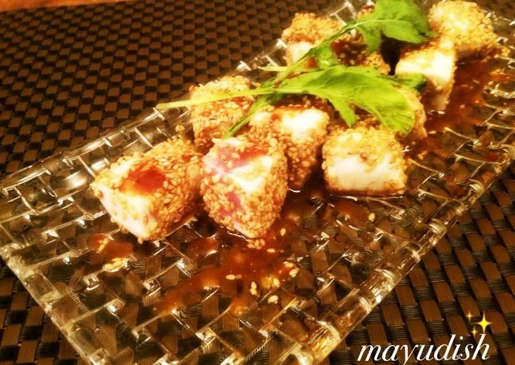 Tuna Steak with Korean Sauce