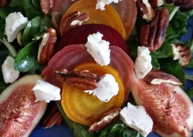 Steps to Make Award-winning Beet and fig salad
