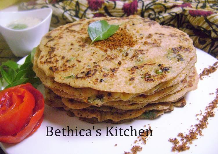Recipe of Homemade Instant Masala Bread Dosa