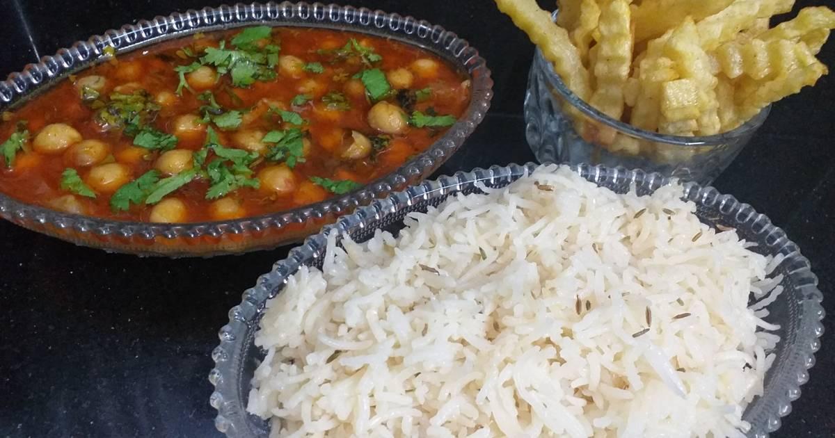 Channay shorba with zeera rice Recipe by KK - Cookpad