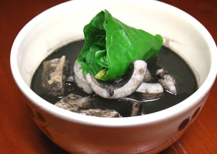 Squid Ink Soup (Okinawan Cuisine), Finding Healthful Fast Food