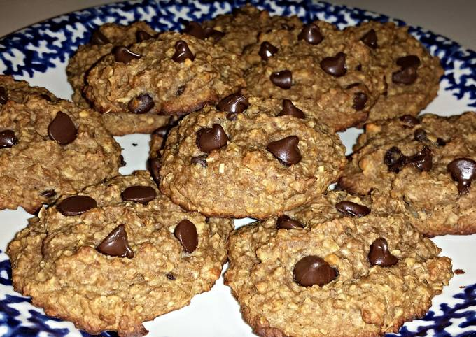 Recipe Crunchy Healthy Peanut Butter Oatmeal Cookies