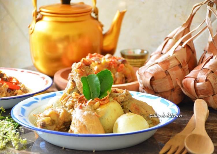 Opor Ayam & Telur