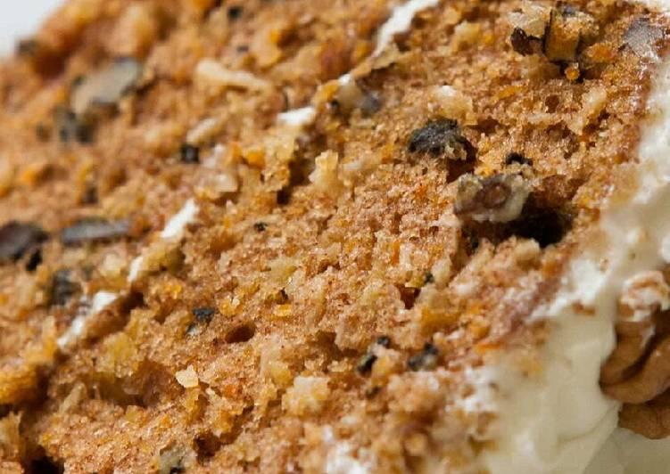 Recipe of Award-winning Vickys Crowd-Pleaser Carrot Cake, GF DF EF SF NF