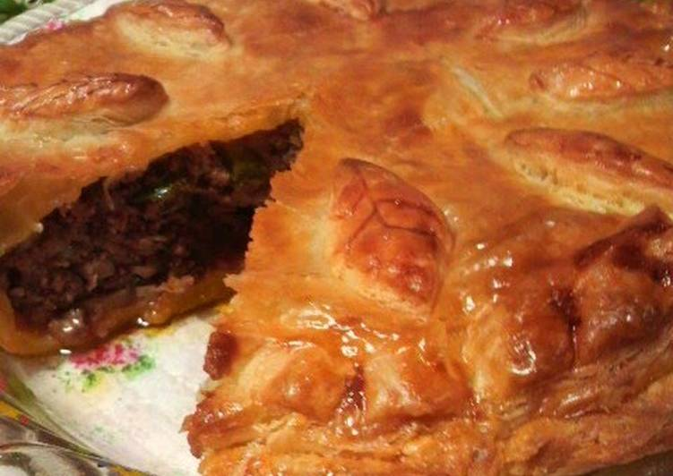 Use Food to Elevate Your Mood Meat Pie Made With Frozen Pastry To Serve to Guests