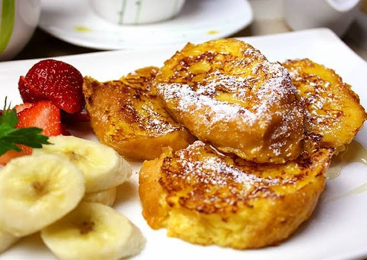 Easiest Way to Prepare Speedy Easy French Toast with Baguettes