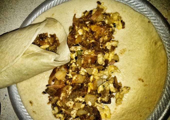 Scooter's Breakfast Burrito
