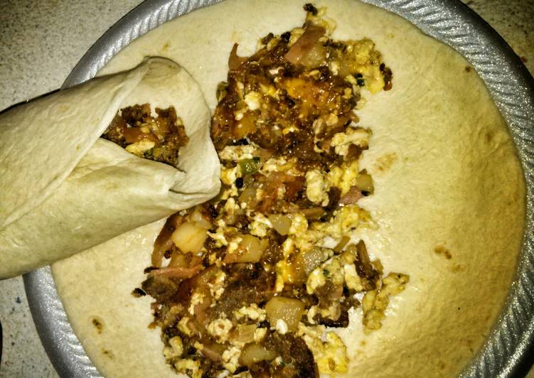 Recipe: Appetizing Scooter's Breakfast Burrito