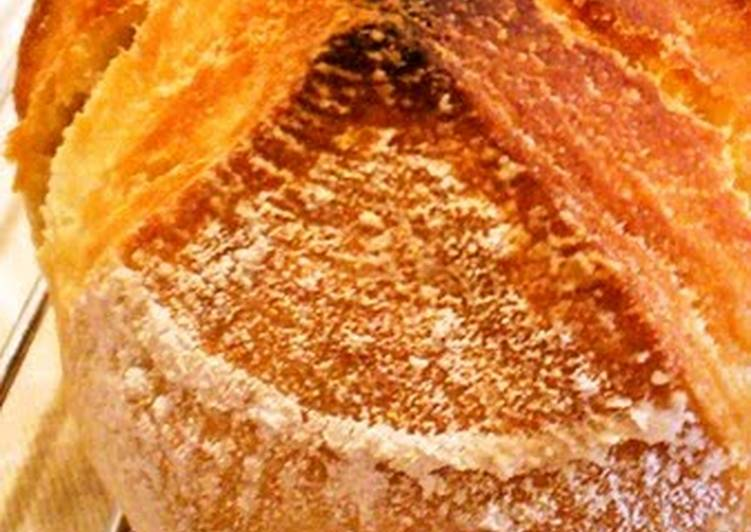 Easy Homemade Bread Pain De Campagne