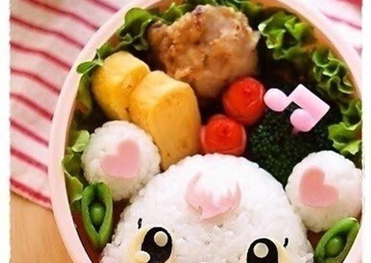 Jewelpet Labra Character Bento, Helping Your Heart with The Right Foods