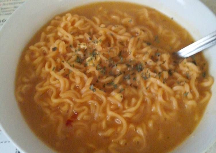 Chicken curry Top Ramen
