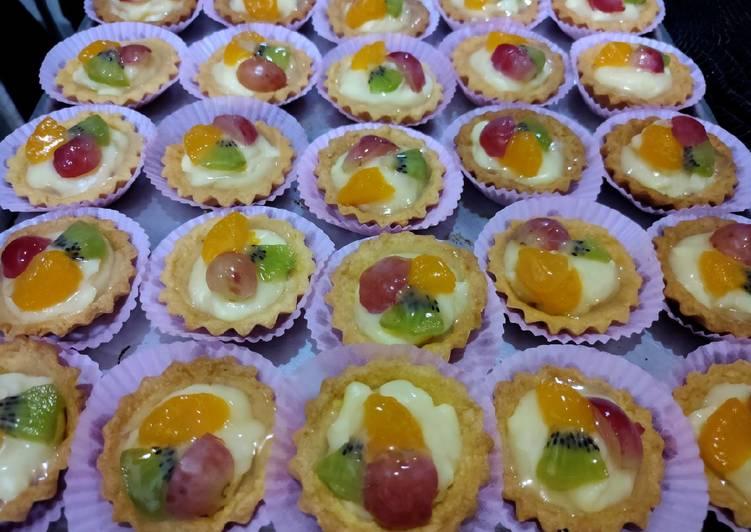Resep Pai buah mini Bikin Laper