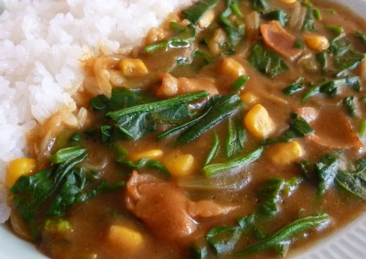 Simple Way to Make Super Quick Homemade Popeye Curry: Easy and Delicious!