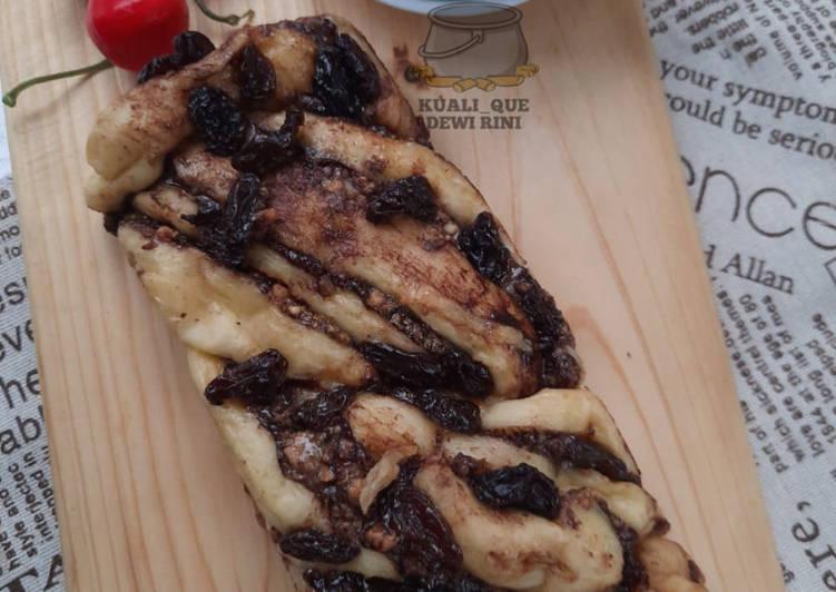 Choco Peanut Babka, Metode Tangzhong, Panggang di panci
