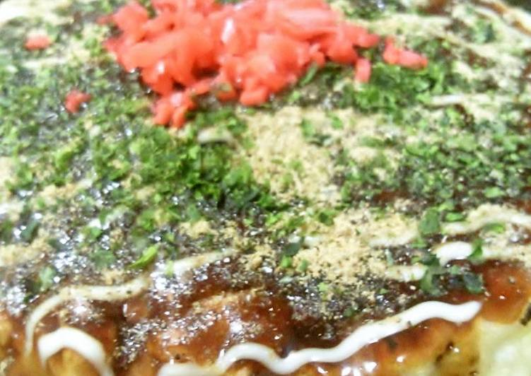 Recipe of Quick Our Family's Recipe For Fluffy Light Okonomiyaki with Tofu
