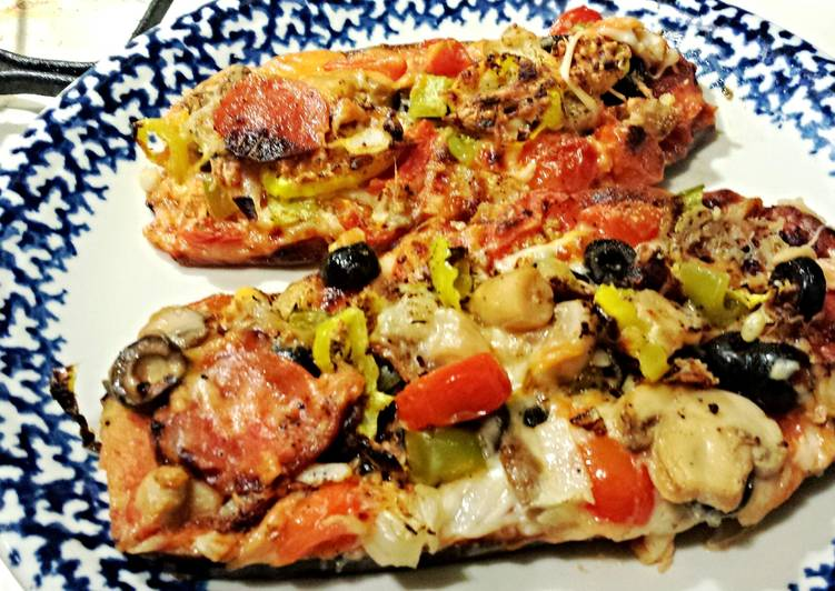 Eggplant Pizza Supreme