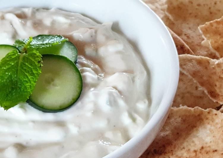 Ricetta Salsa Tzatziki 🥒🥗