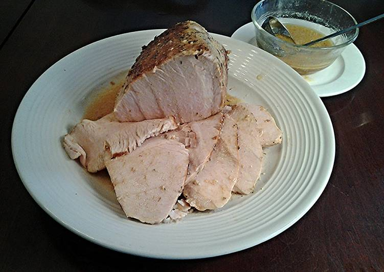 Boneless Turkey Breast,Cooked Sous Vide