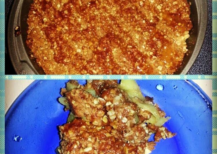 Easiest Way to Prepare Favorite apple crisp