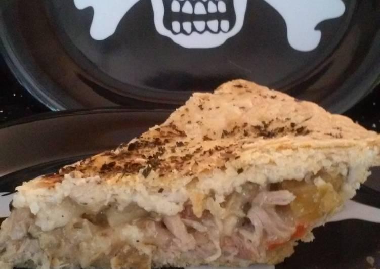 Apple & Chicken Crock Pot Pie