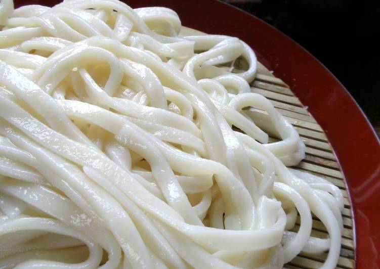 Recipe of Ultimate Salt-free Homemade Udon Noodles