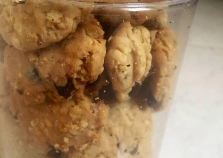 Oat Cookies (takaran sendok)