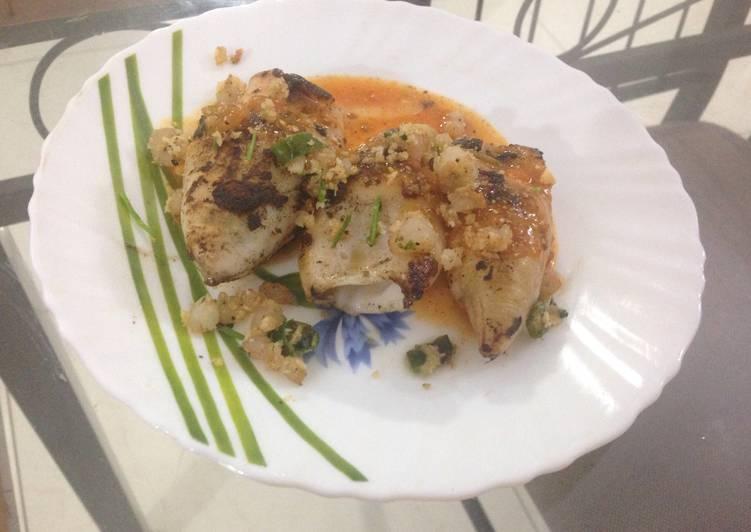Recipe of Any-night-of-the-week Prawn Stuffed Squid