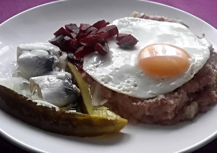 Sig's German Labskaus sailors cornedbeefhash #myfavouriterecipes