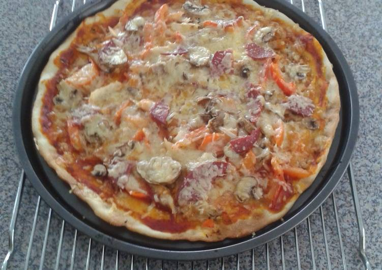Recipe: Tasty Dairy-free Pizza dough