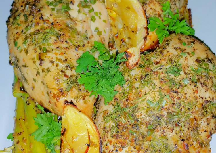 Mike's Garlic Lemon Herbed Chicken, Heart Friendly Foods You Need To Be Eating
