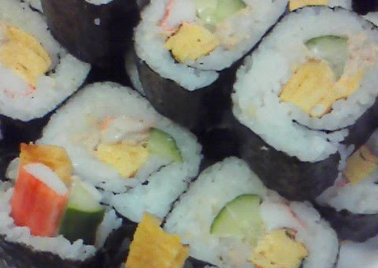 So Delicious! My Salad Sushi Rolls