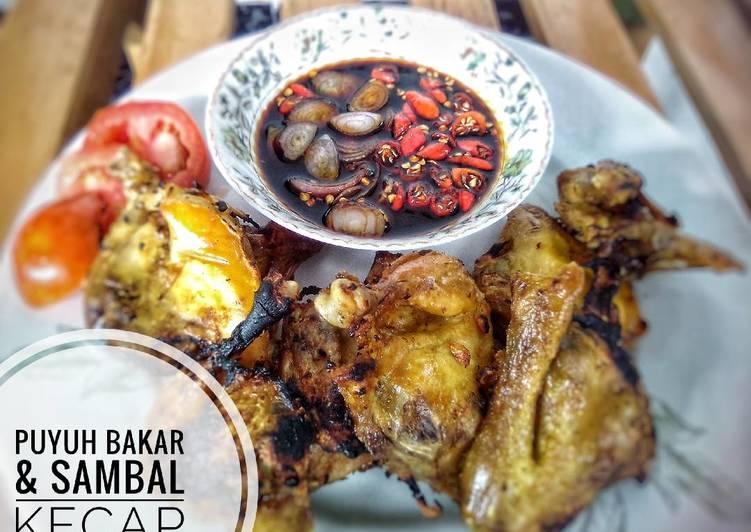 Resep Puyuh Bakar Sambal Kecap Pr Adakecapmanisnya Oleh Atik Pawoen Ibuk Cookpad