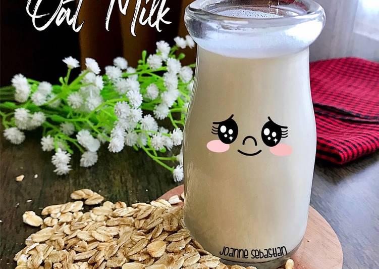 Resep Oat Milk Paling Top