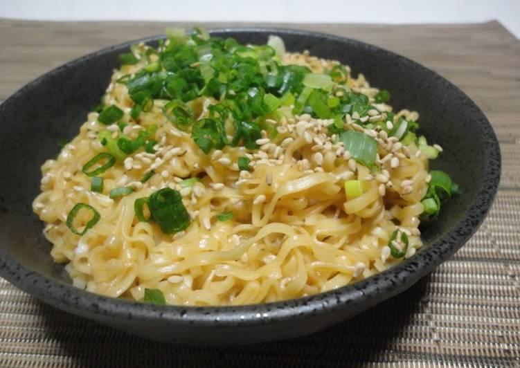 (As Easy As Carbonara?) Kamatama Chicken Ramen