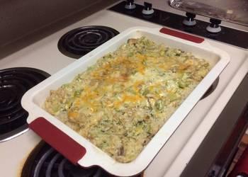 How to Prepare Delicious Cheesy Chicken Casserole
