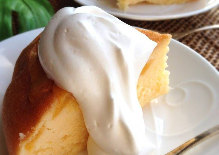 Tarte Tatin-style Rice Cooker Cake with Canned Peaches