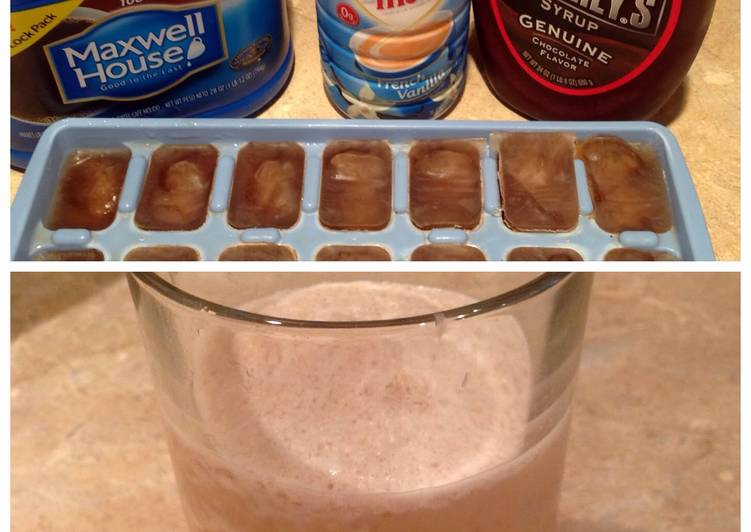 15 Minute Steps to Make Quick Mocha Ice Coffee